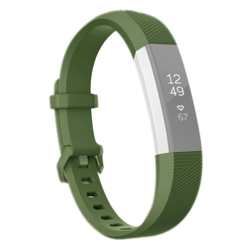 Buy For Fitbit Alta Smart Watch Silicone Watchband, Length: about 23.8cm (Army Green) for $2.28 in SUNSKY store