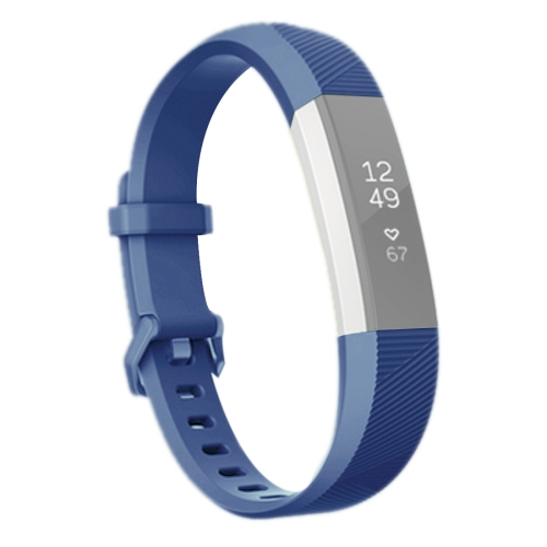Buy For Fitbit Alta Smart Watch Silicone Watchband, Length: about 23.8cm, Green for $2.28 in SUNSKY store