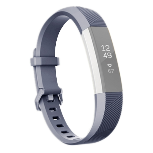 Buy For Fitbit Alta Smart Watch Silicone Watchband, Length: about 23.8cm, Grey for $2.28 in SUNSKY store