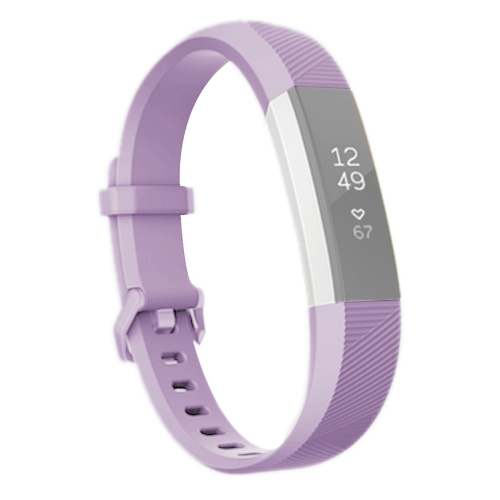 Buy For Fitbit Alta Smart Watch Silicone Watchband, Length: about 23.8cm (Light Purple) for $2.28 in SUNSKY store