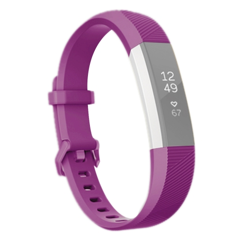 Buy For Fitbit Alta Smart Watch Silicone Watchband, Length: about 23.8cm, Purple for $2.28 in SUNSKY store