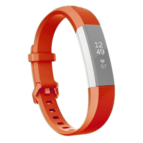 Buy For Fitbit Alta Smart Watch Silicone Watchband, Length: about 23.8cm, Red for $2.28 in SUNSKY store