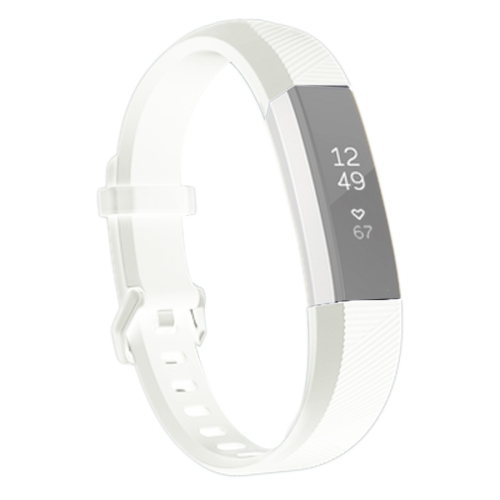 Buy For Fitbit Alta Smart Watch Silicone Watchband, Length: about 23.8cm, White for $2.28 in SUNSKY store