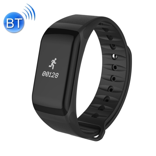 Buy TLWT1 0.66 inch OLED Display Bluetooth Smart Bracelet, IP66 Waterproof, Support Heart Rate Monitor / Blood Pressure & Blood Oxygen Monitor / Pedometer / Calls Remind / Sleep Monitor / Sedentary Reminder / Alarm, Compatible with Android and iOS Phones, Black for $18.96 in SUNSKY store