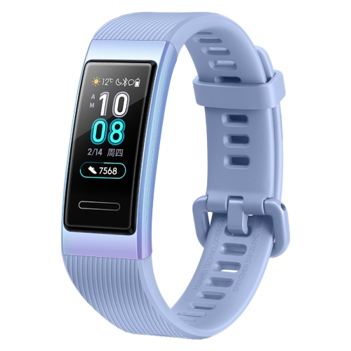 Original Huawei Band 3 Smart Bracelet, 0.95 inch AMOLED Color Screen, 5ATM Waterproof, Support Heart Rate Monitor / Sleep Monitor / Message Reminder(Blue) фото