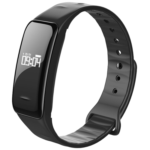 Buy C1 0.49 inch OLED Touch Screen Display Bluetooth Intelligence Heart Rate Smart Bracelet, IP67 Waterproof, Support Pedometer / Real-time Heart Rate Monitor / Blood Oxygen Monitor / Blood Pressure Monitor / Sleep Monitor / Notification Reminder / Call Reminder, Compatible with Android and iOS Phones, Black for $20.05 in SUNSKY store