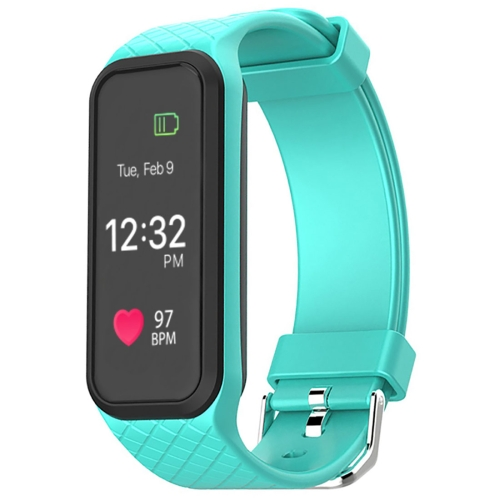 Buy L38i 1.06 inch TFT Colorful Touch Screen Display Bluetooth Intelligence Heart Rate Smart Bracelet, IP67 Waterproof, Support Pedometer / Real-time Heart Rate Monitor / Exercise Monitor / Anti-lost Reminder / Sleep Monitor / Notification Reminder / Health Management, Compatible with Android and iOS Phones, Green for $27.53 in SUNSKY store