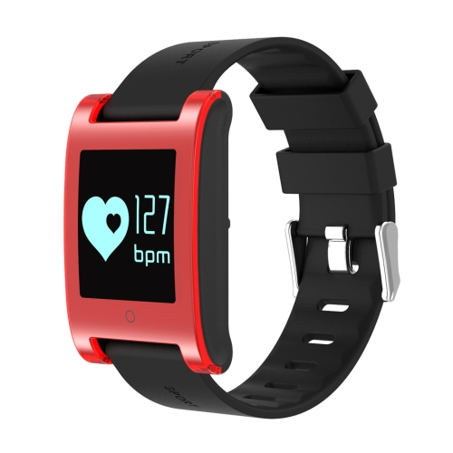 Buy DOMINO DM68 0.95 inch Touch Screen Bluetooth NRF51822, M0 Smart Bracelet for iOS & Android Phones, Pedometer / Heart Rate / Sleep Monitor / Find Phone / Sedentary Reminder, Red for $26.06 in SUNSKY store