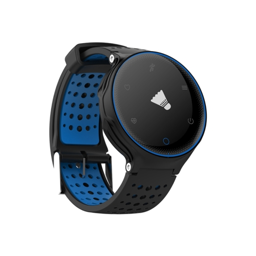 Buy X2 0.96 inch OLED Display Bluetooth Smart Bracelet, IP68 Waterproof, Support Blood Pressure / Blood Oxygen / Heart Rate Monitor / Pedometer / Calls Remind / Sleep Monitor / Sedentary Reminder / Remote Capture (Black + Blue) for $30.93 in SUNSKY store