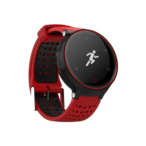 Buy X2 0.96 inch OLED Display Bluetooth Smart Bracelet, IP68 Waterproof, Support Blood Pressure / Blood Oxygen / Heart Rate Monitor / Pedometer / Calls Remind / Sleep Monitor / Sedentary Reminder / Remote Capture (Red + Black) for $30.93 in SUNSKY store