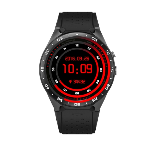 Buy KW88 1.39 inch AMOLED Screen Bluetooth 4.0 Android 5.1 OS MTK6580 Quad Core 1.3GHz Waterproof Smart Bracelet Watch Phone with Heart Rate Monitor & Pedometer & Custom Watch Interface & Nano SIM Card Slot & Remote Camera & Anti-lost Function, RAM: 512MB, ROM: 4GB, Tarnish for $112.00 in SUNSKY store