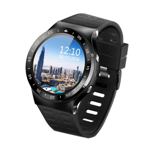 Buy S99A 1.33 inch TONCELL Round Screen Bluetooth 4.0 Android 5.0 OS MTK6580 Quad Core 1.3GHz Waterproof Smart Bracelet Watch Phone with 5MP Camera & SIM Card Slot, Support Heart Rate mMnitor, Pedometer, GPS, WiFi, Bluetooth, Lift Hand to Brighten Screen, RAM: 512MB, ROM: 8GB, Network: 3G/2G, Black for $97.28 in SUNSKY store