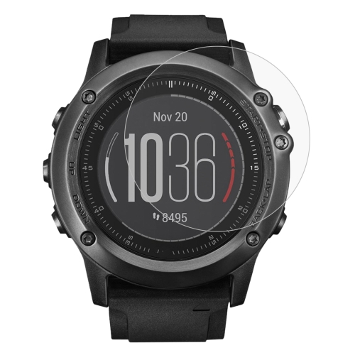 Buy ENKAY Hat-Prince for Garmin Fenix 3 HR Smart Watch 0.2mm 9H Surface Hardness 2.15D Explosion-proof Silk-screen Tempered Glass Full Screen Film for $1.61 in SUNSKY store