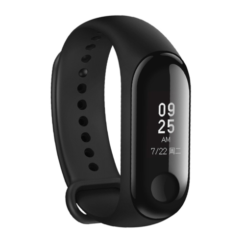 Original Xiaomi Mi Band 3 Fitness Tracker Smart Bracelet, 50m Swim Waterproof, Support Heart Rate Monitor / Weather Forecast / Sports Mode / Information Reminder(Black) фото