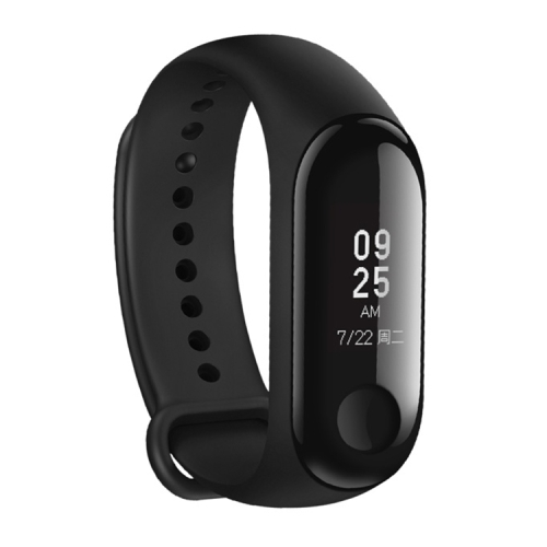 [HK Stock] International Edition Original Xiaomi Mi Band 3 Fitness Tracker Smart Bracelet, 50m Swim Waterproof, Support Heart Rate Monitor / Weather Forecast / Sports Mode / Information Reminder (Black)