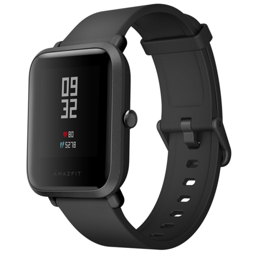 [HK Stock] Original International Edition Xiaomi Amazfit Bip Lite Version Ultra-light 1.28 inch Screen Display IP68 Waterproof Smart Watch Youth Edition, Support GPS + GLONASS Compass & Heart Rate Monitor & Motion(Black) new arrival english version xiaomi amazfit a1603 arc activity heart rate