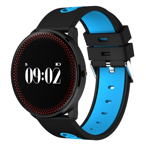 Buy CF007 0.96 inch OLED Touch Screen Display Bluetooth Sports Smart Bracelet, Water Resistant, Support Blood Pressure / Blood Oxygen / Heart Rate Monitor / Pedometer / Calls Remind / Sleep Monitor / Sedentary Reminder / Remote Capture, Compatible with Android and iOS Phones, Blue for $25.43 in SUNSKY store
