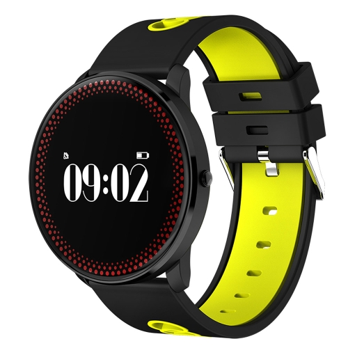 Buy CF007 0.96 inch OLED Touch Screen Display Bluetooth Sports Smart Bracelet, Water Resistant, Support Blood Pressure / Blood Oxygen / Heart Rate Monitor / Pedometer / Calls Remind / Sleep Monitor / Sedentary Reminder / Remote Capture, Compatible with Android and iOS Phones, Yellow for $25.41 in SUNSKY store