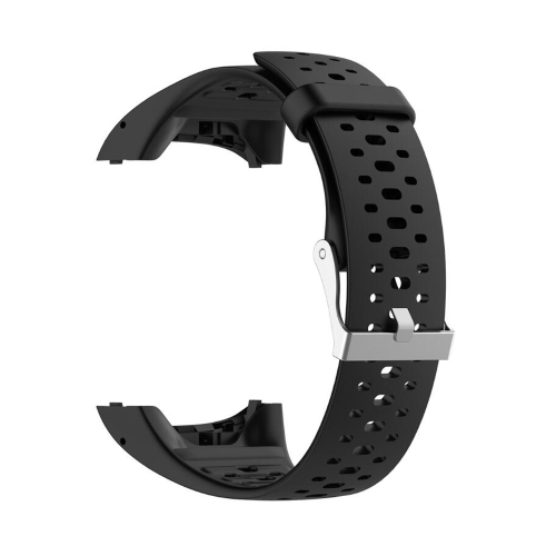 Silicone Sport Wrist Strap for POLAR M400 / M430 (Black)