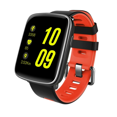 Buy GV68 Touch Screen Bluetooth Smart Bracelet, IP68 Waterproof, Support Heart Rate Monitor / Pedometer / Bluetooth Call / Calls Remind / Sleep Monitor / Sedentary Reminder / Anti-lost / Remote Capture, Compatible with Android and iOS Phones, Red for $46.48 in SUNSKY store