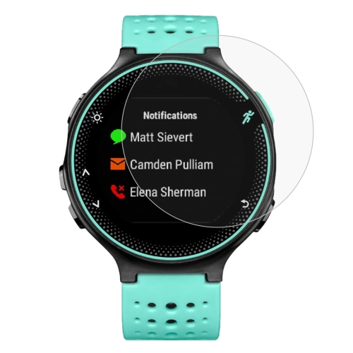 Buy 2 PCS ENKAY Hat-Prince for Garmin Forerunner 235 Smart Watch 0.2mm 9H Surface Hardness 2.15D Explosion-proof Tempered Glass Screen Film for $2.31 in SUNSKY store