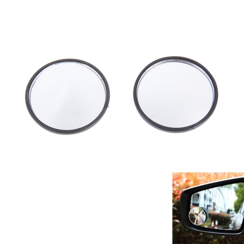 Buy Car Blind Spot Rear View Wide Angle Mirror, Diameter: 5.3cm, Black for $1.48 in SUNSKY store