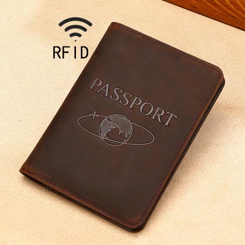 Hot Pink Wig Multi-purpose Travel Passport Set With Storage Bag Leather Passport Holder Passport Holder With Passport Holder Travel Wallet