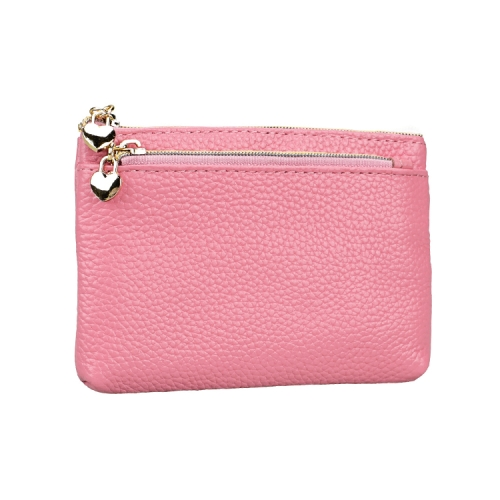 2013 Antimagnetic RFID Multifunctional Litchi Texture Women Large Capacity Hand Wallet with Card Slots (Pink)