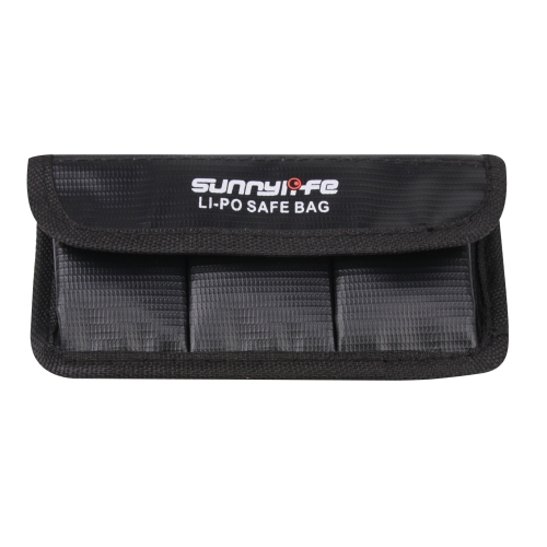 Sunnylife 3 in 1 Battery Explosion-proof Bag for DJI OSMO ACTION