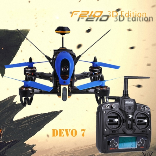 Buy Walkera F210 3D Edition Racing Drone Quadcopter with 700TVL Camera / 5.8G FPV / OSD / DEVO 7, Left Hand Throttle for $331.93 in SUNSKY store