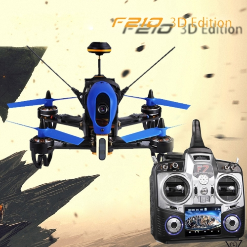 Buy Walkera F210 3D Edition Racing Drone Quadcopter with 700TVL Camera / 5.8G FPV / OSD / DEVO F7, Left Hand Throttle for $371.45 in SUNSKY store