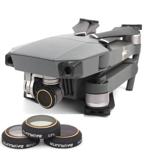 Buy 3 in 1 HD Drone Camera ND8 & CPL & UV Lens Filter Set for DJI Mavic Pro for $21.04 in SUNSKY store