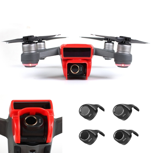 Buy 4 in 1 HD Drone Camera ND32 / 16 / 8 / 4 Lens Filter Set for DJI Spark for $30.16 in SUNSKY store