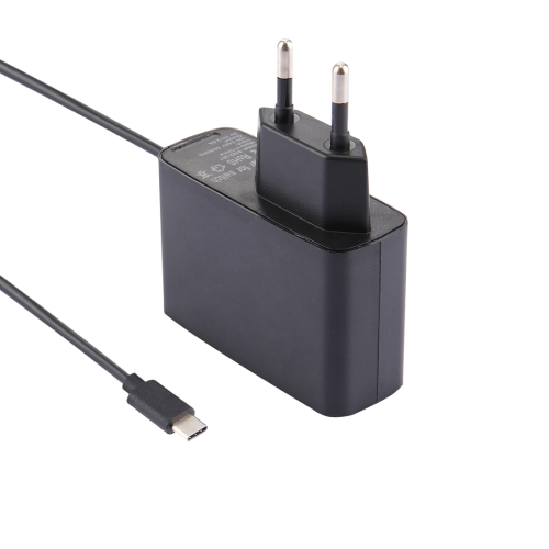 For Nintendo Switch NS Game Console Wall Adapter Charger Charger Adapter Charging Power, DC 5V, Cable Length: 1.5m, EU Plug(Black)