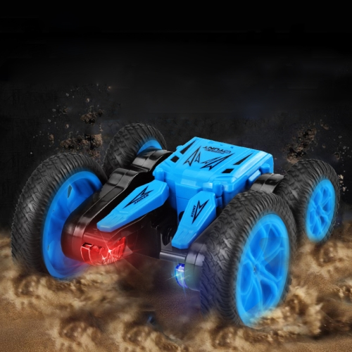 JJR/C Q71 2.4Ghz Double-sided Drive Stunt Remote Control Tumbling Truck Vehicle Toy (Blue) фото