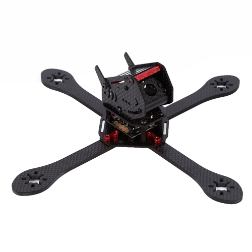 Buy GEPRC GEP-ZX6 255mm Wheelbase FPV Carbon Fiber 4-axle Racing Quadcopter Frame for $49.71 in SUNSKY store