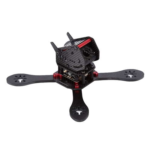 Buy GEPRC GEP-ZX4 170mm Wheelbase FPV Carbon Fiber 4-axle Racing Quadcopter Frame for $45.49 in SUNSKY store