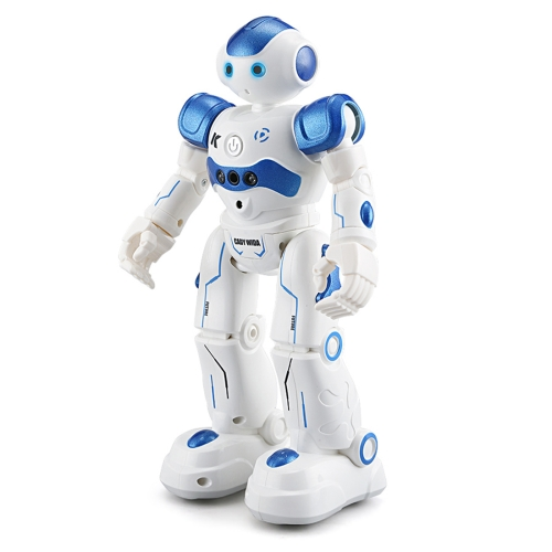 JJR/C R2 CADY WIDA RC Robot Gesture Sensor Dancing Intelligent Program Toy Gift for Children Kids Entertainment with Remote Control(Blue) lucky bag with kids intelligent toy