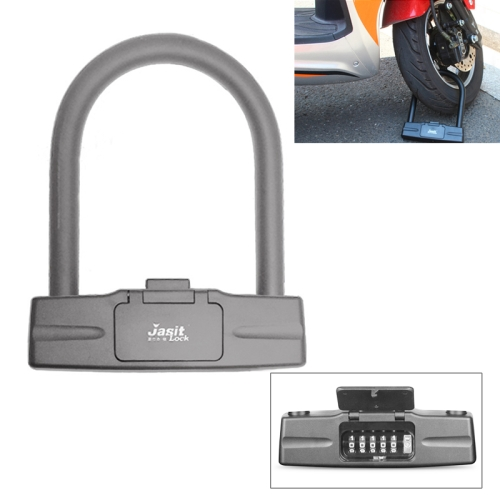 Security 4 Digital Codes Bike Motorcycle Anti Theft Combination Coded Lock
