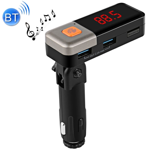 Buy BC11 Dual USB Car Charger Bluetooth FM Transmitter Kit, Support LCD Display / TF Card Music Play / Hands-free for $11.89 in SUNSKY store
