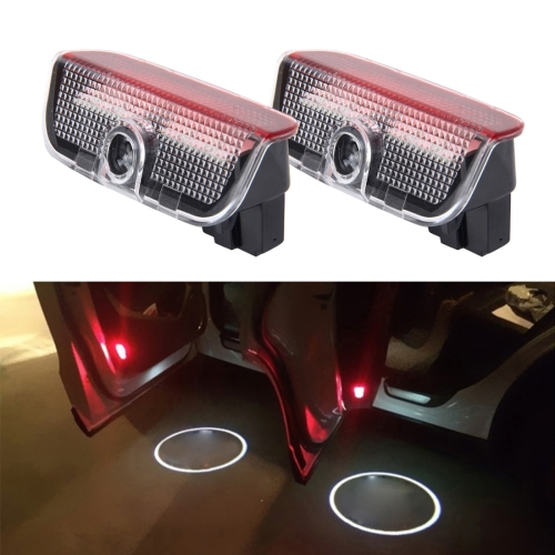 2 PCS LED Car Door Welcome Logo Car Brand 3D Shadow Light for Porsche фото