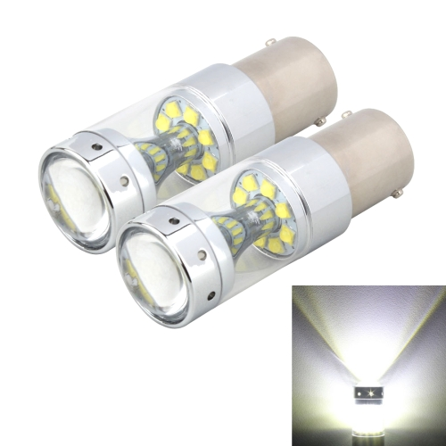 Buy 2 PCS 1156 60W 1200 LM 6000K Car Auto Brake Lights Turn Light Backup Light with 12 CREE XB-D Lamps, DC 12V (White Light) for $13.47 in SUNSKY store