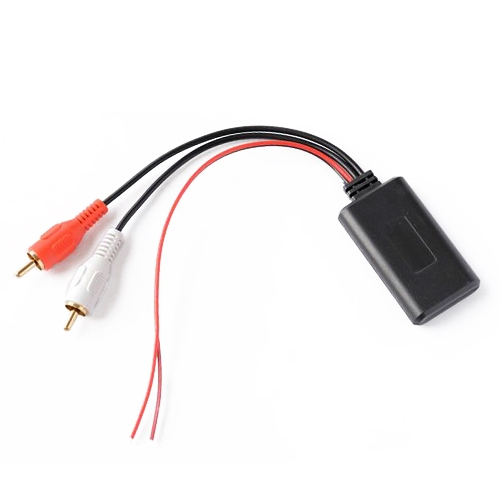 Universal Car Bluetooth Module Adapter Radio Stereo with 2 RCA Cable Adapter
