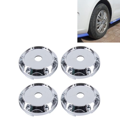 Buy 4 PCS Metal Car Styling Accessories Car Emblem Badge Sticker Wheel Hub Caps Centre Cover for $2.96 in SUNSKY store