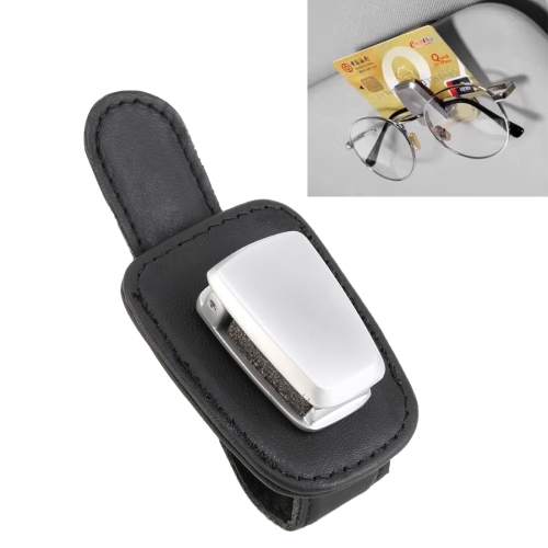 Car Multi-functional Sunglasses Clip Holder (Black)
