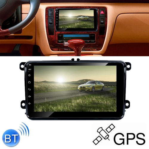 HD 8 inch Car Android 8.0 Radio Receiver MP5 Player for Volkswagen, Support FM & AM & Bluetooth & TF Card & GPS, with Decoder