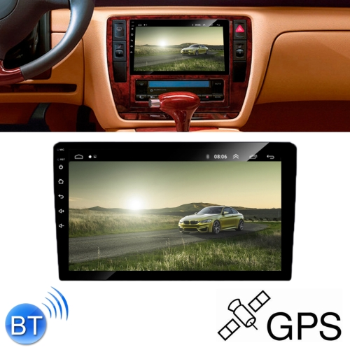 HD 10.1 inch Universal Car Android 8.1 Radio Receiver MP5 Player, Support FM & AM & Bluetooth & TF Card & GPS