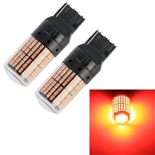 2 PCS T20 / 7440 DC12V / 18W / 1080LM Car Auto Turn Lights with SMD-3014 Lamps (Red Light)