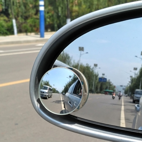 Buy 2 PCS XIAOLIN XL-1008A Car Blind Spot Rear View 360 Degree Angle Adjustable Wide Angle Mirror, Diameter: 5cm for $1.46 in SUNSKY store