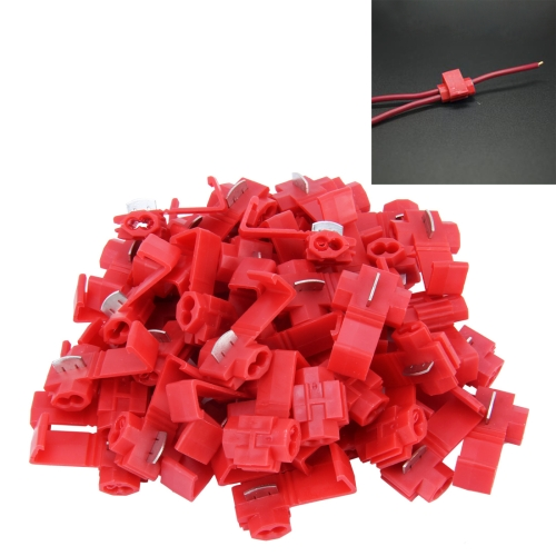 Buy 50 PCS Quick Splice Solderless Wire Terminals Connector for $3.72 in SUNSKY store